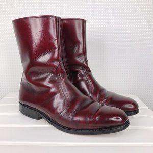 Allen Edmonds Andover Leather Boots Mens Size 7 D